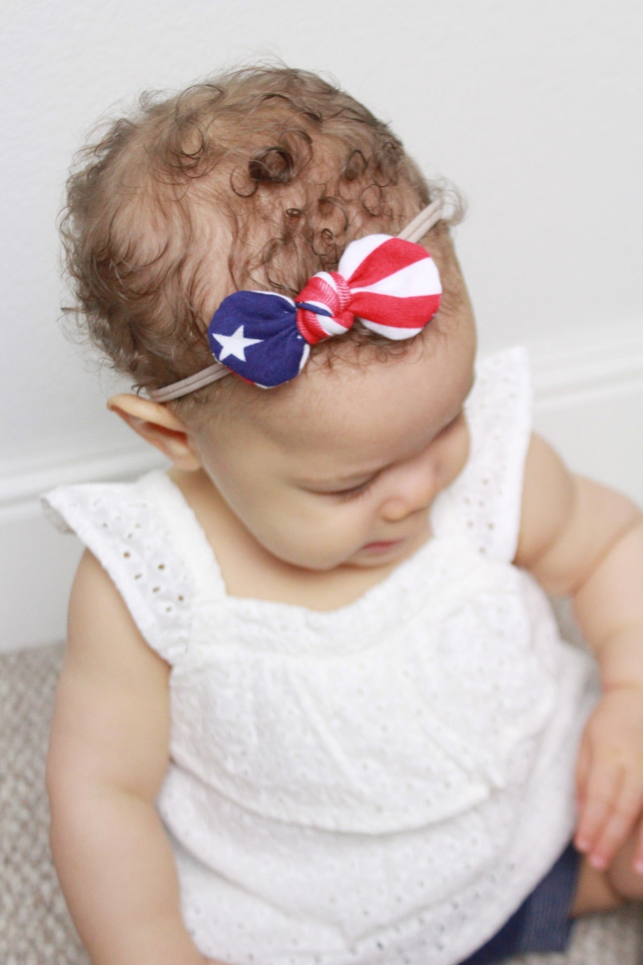Stars and Stripes Mini Knot Headband