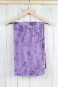 Violet Infant Minky Blanket