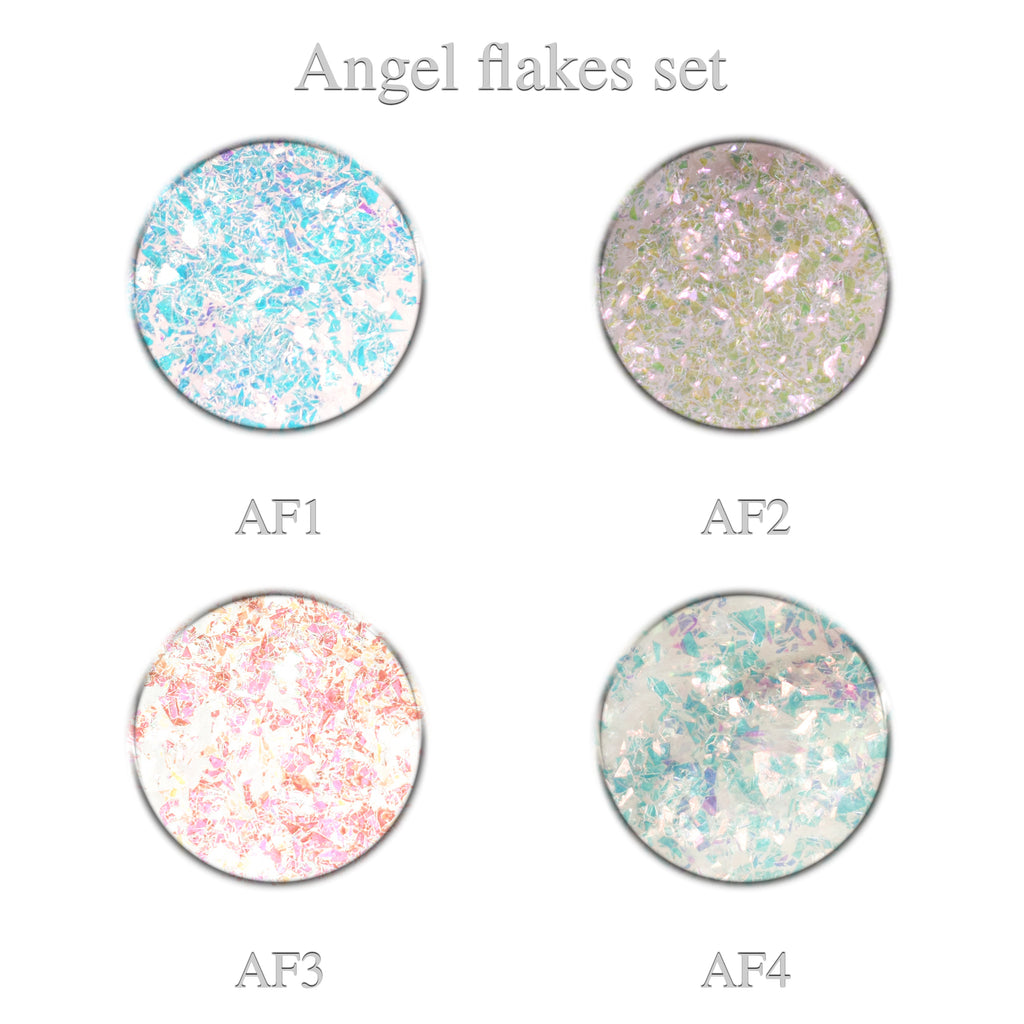Angel Flakes Set 4pcs.
