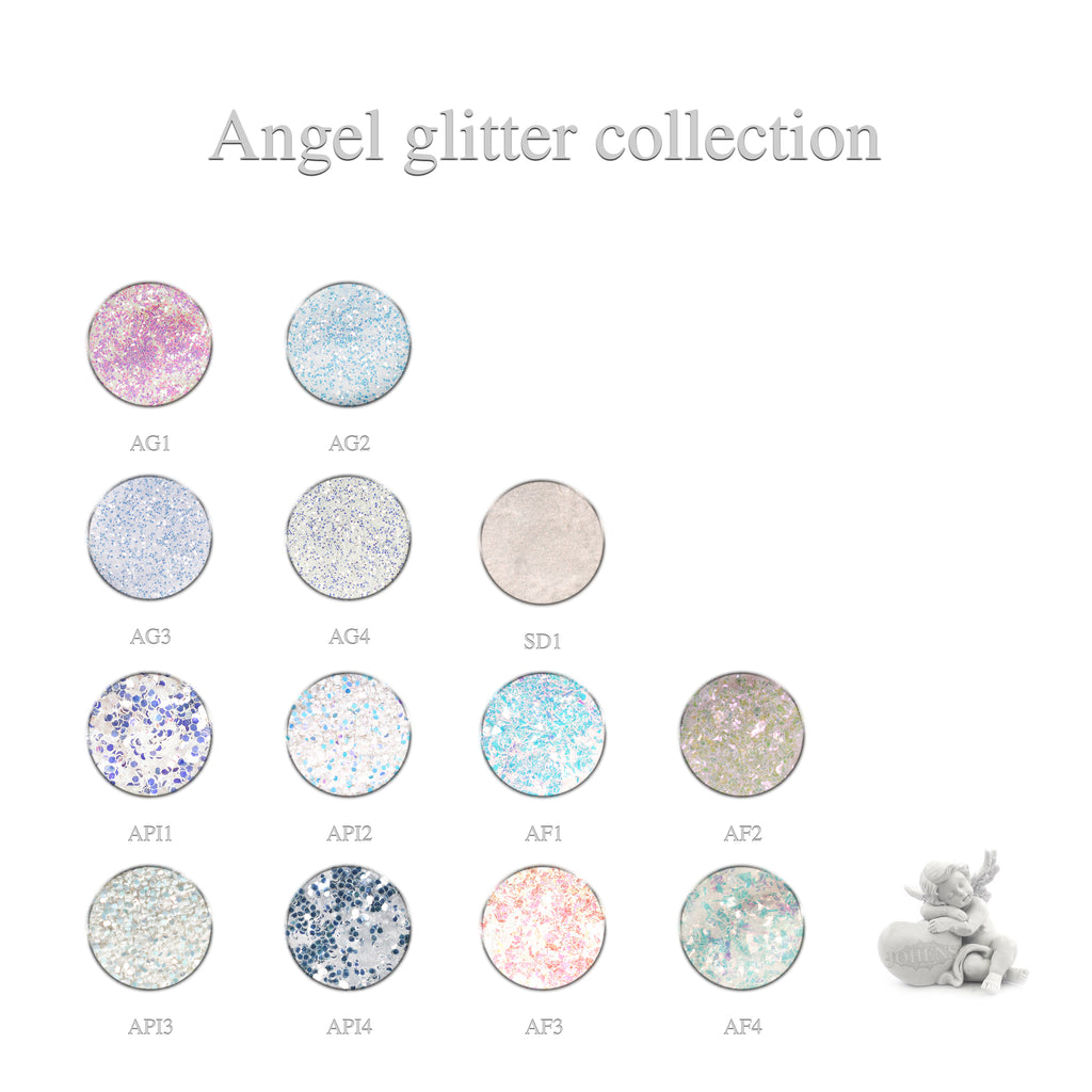 Angel Glitter Collection 13pcs.