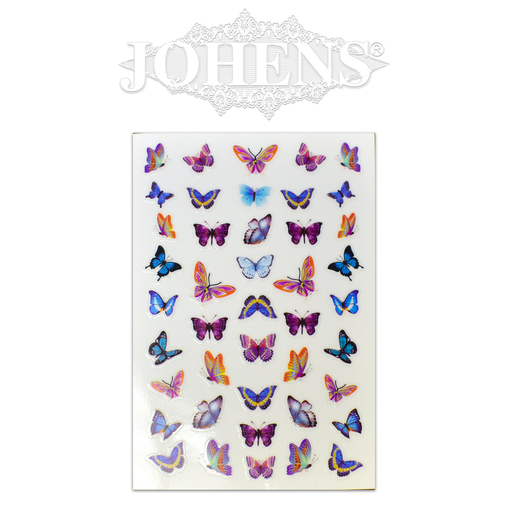 Butterfly stickers #01