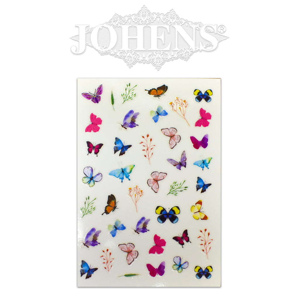 Butterfly stickers #02