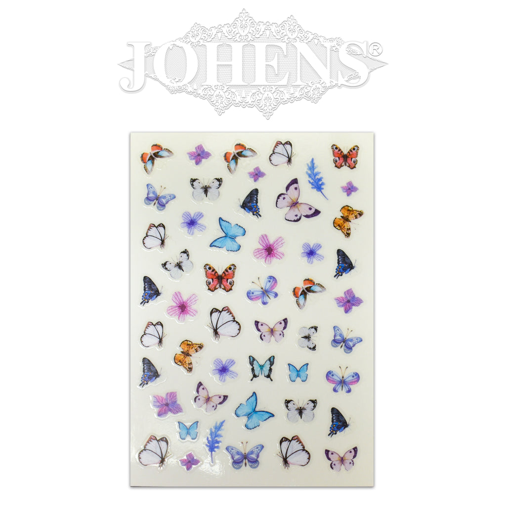 Butterfly stickers #03