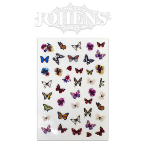 Butterfly stickers #04
