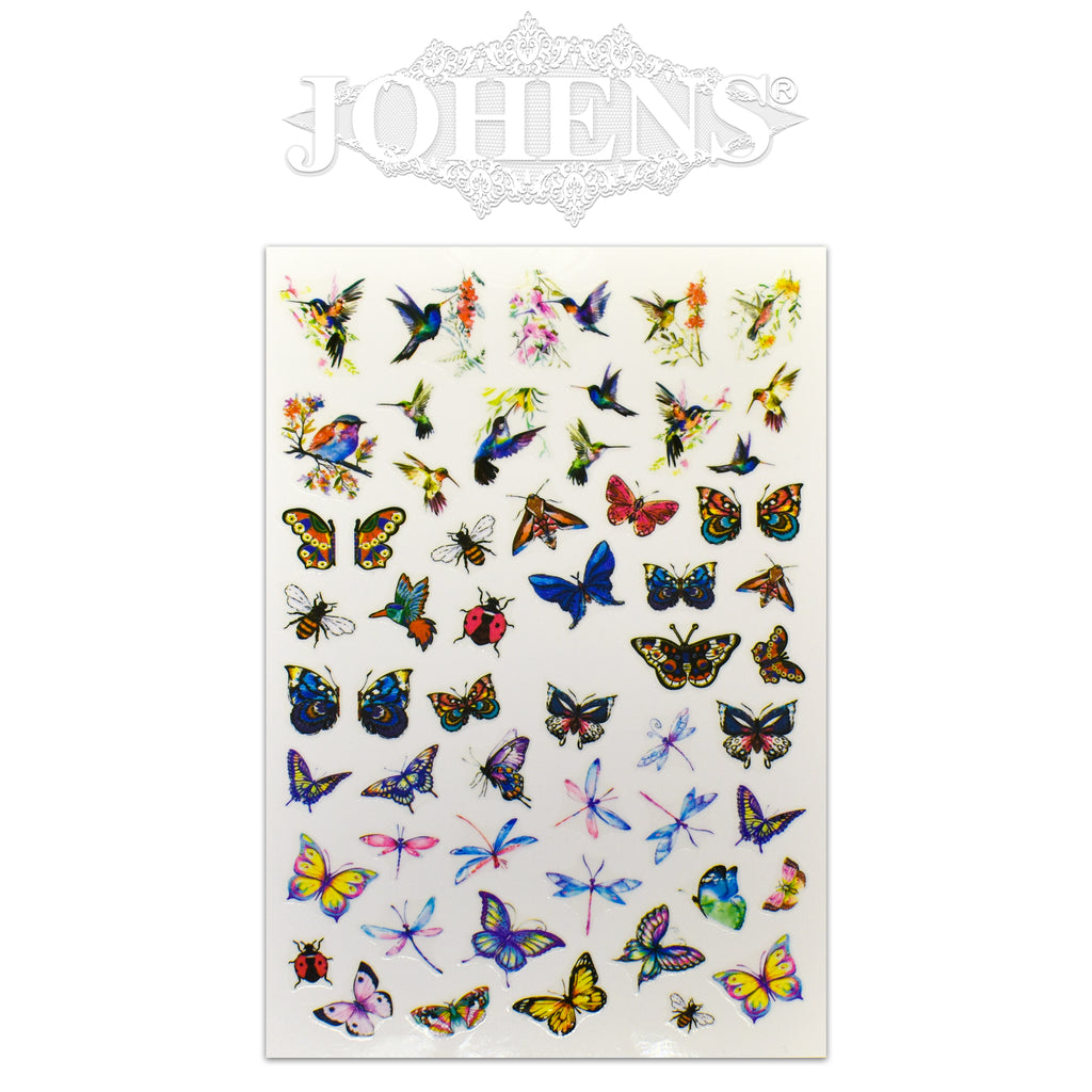 Butterfly stickers #05