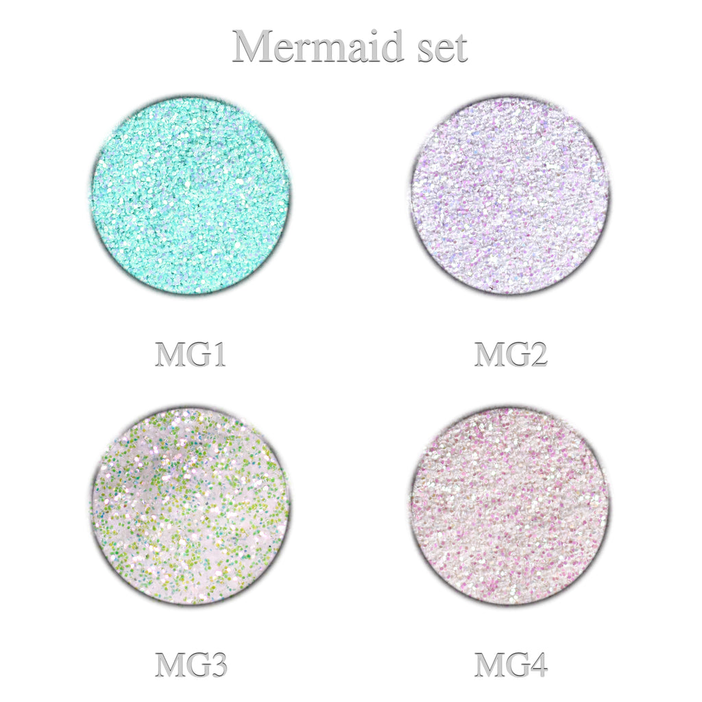 Mermaid Glitter Set 4pcs.
