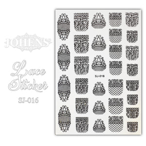 Lace Sticker SJ-016 (water decals)