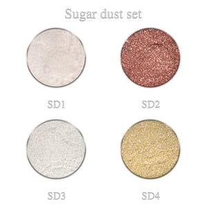 Sugar dust set 4pcs.