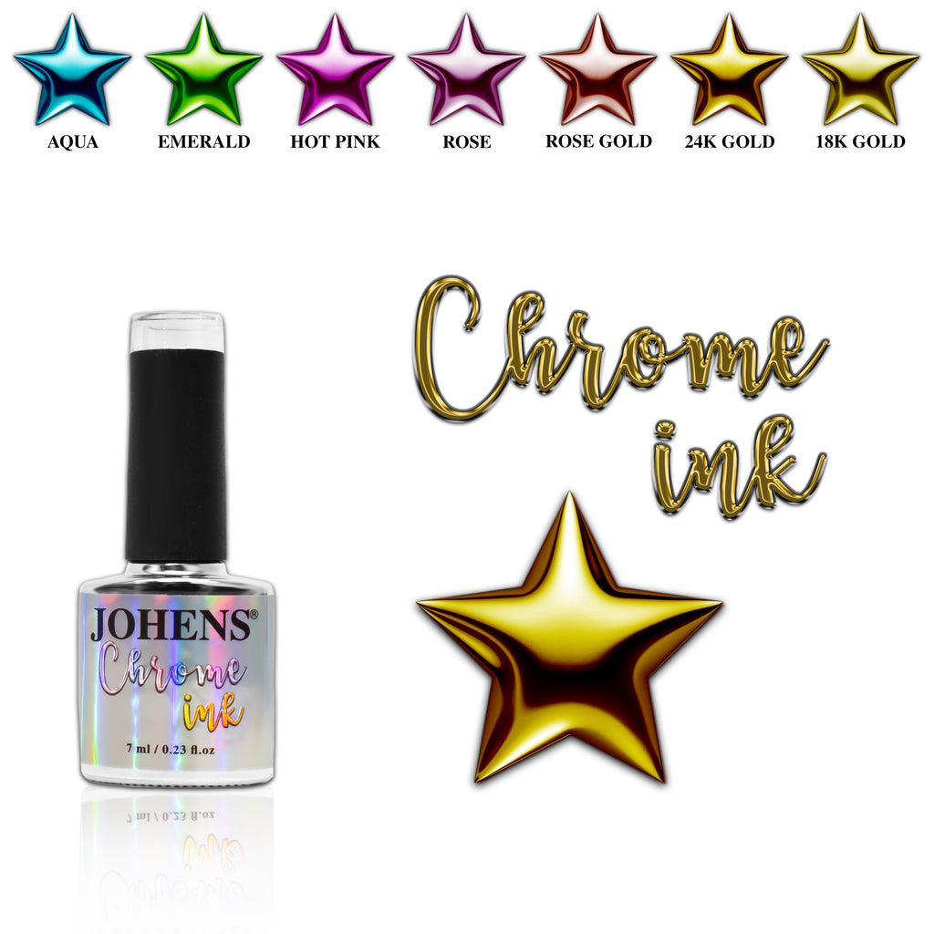 Chrome Ink #006 - 24K Gold