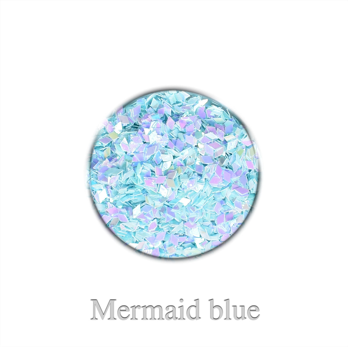 Chrome Rhombus Mini - Mermaid blue