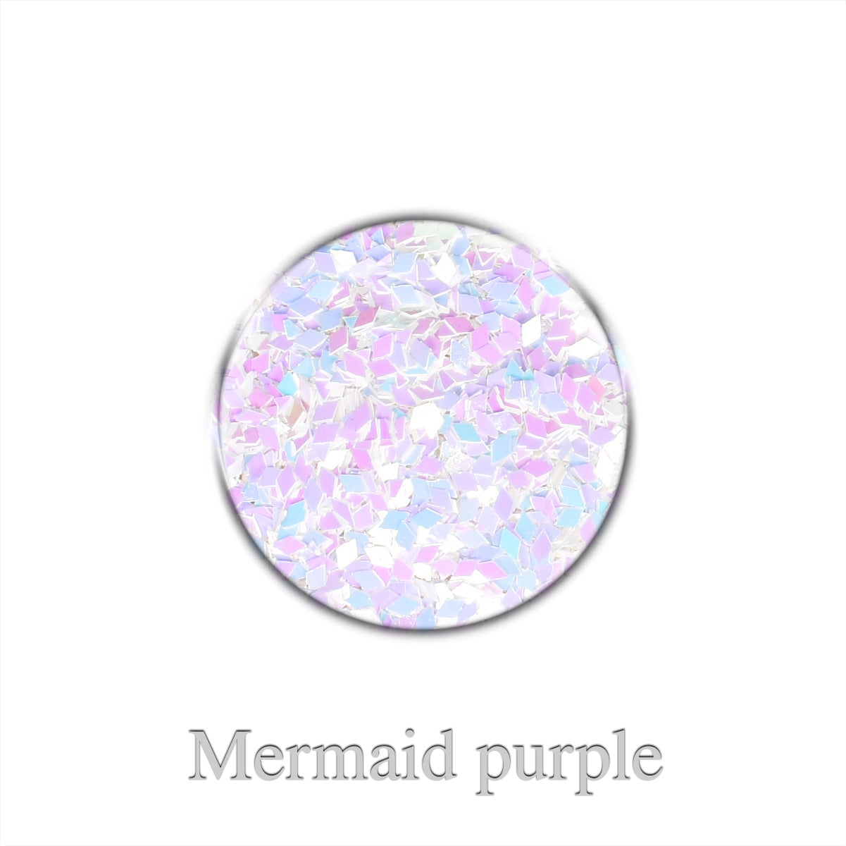 Chrome Rhombus Mini - Mermaid purple
