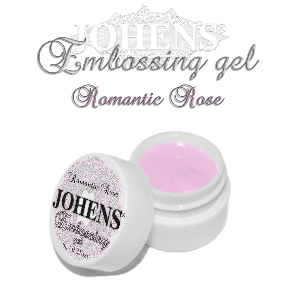 Embossing Gel - Romantic Rose
