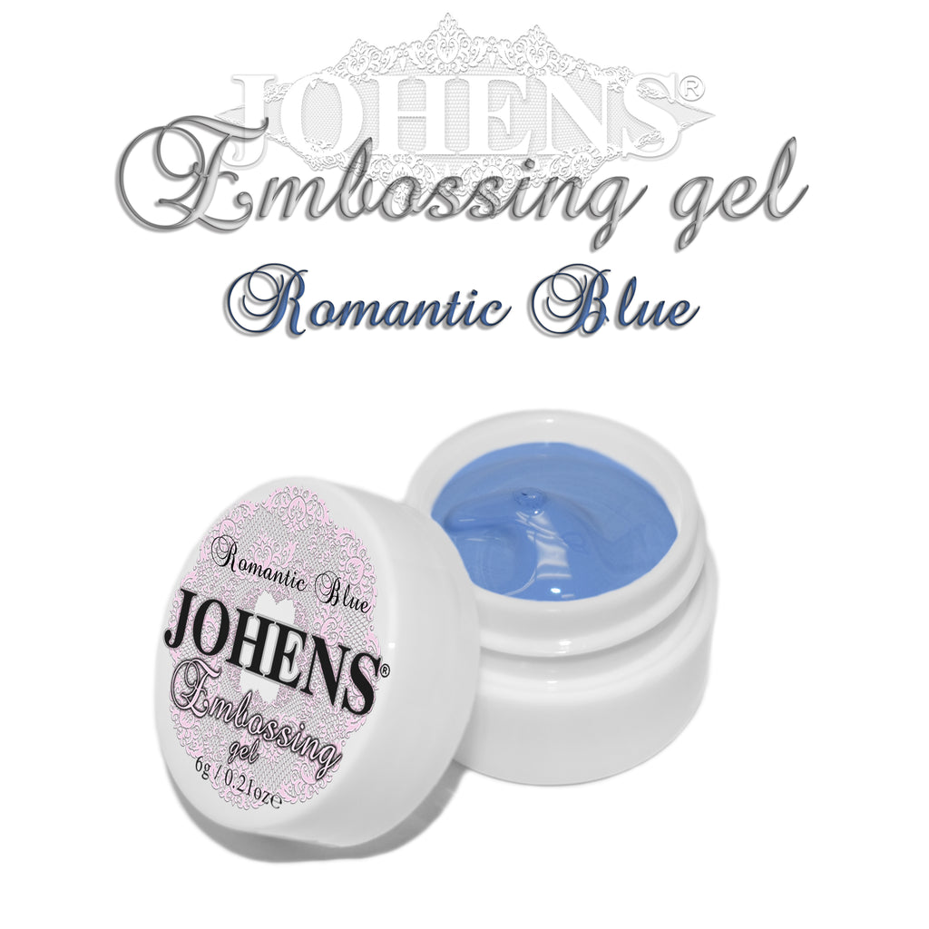 Embossing Gel - Romantic Blue