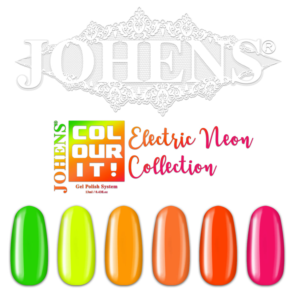 COLOUR IT! ELECTRIC NEON COLLECTION