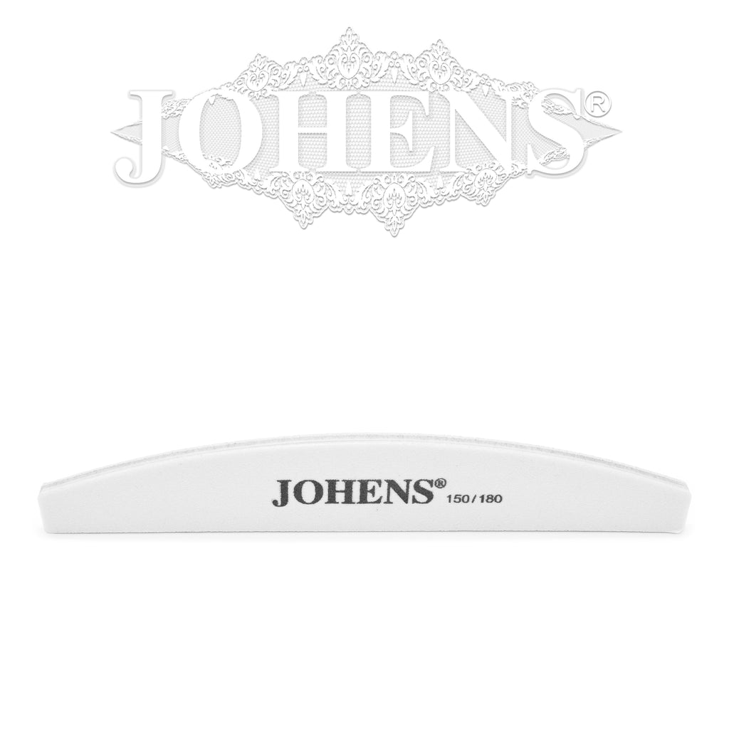 Nail File 150/180 (White core) 1pc.