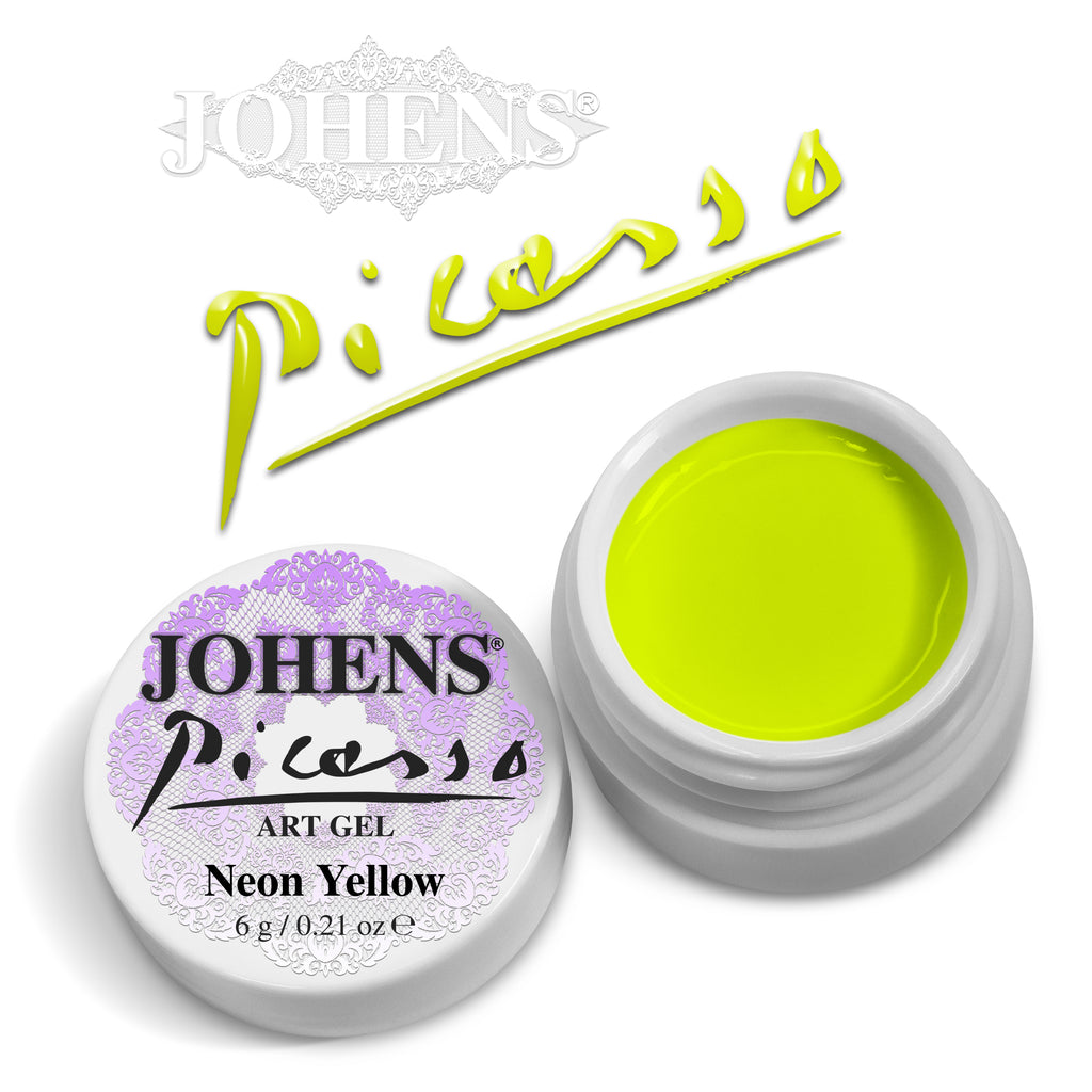 Picasso Art Gel - Neon Yellow