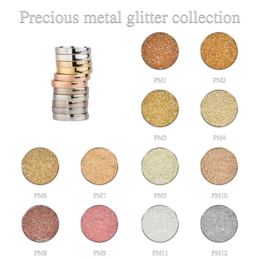 Precious Metal Glitter Collection 12pcs.