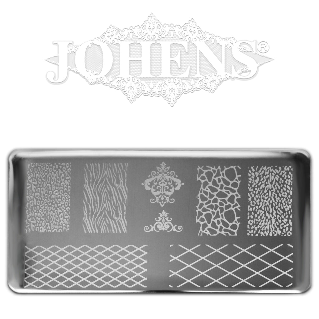 Elite Design Stamping Plate 06. (BE14)