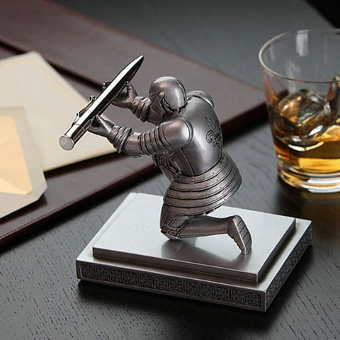 Knight Pen Holder