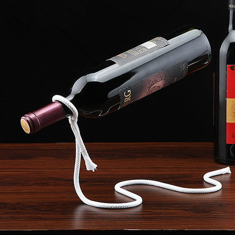 lasso wine bottle holder