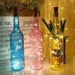 bottle cork led string lights