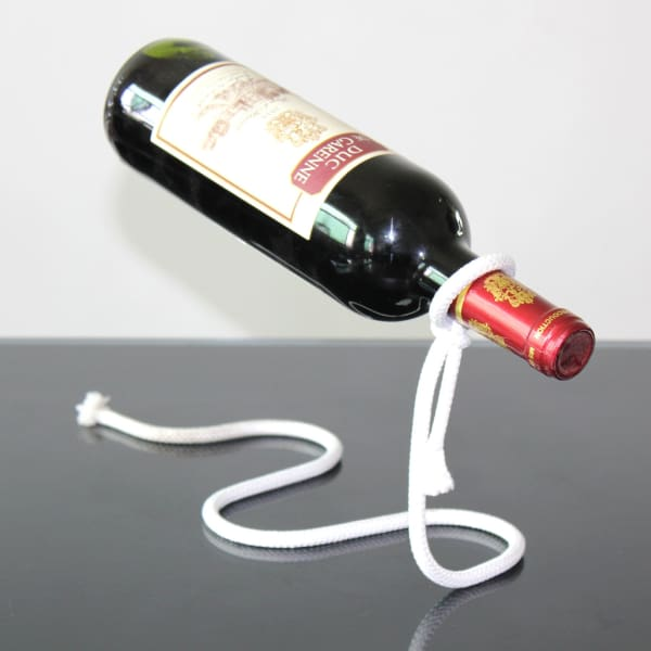 rope wine holder