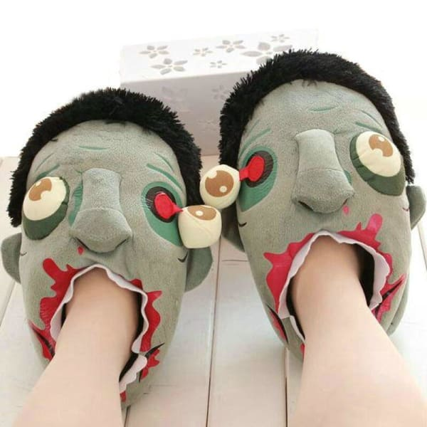 zombie house slippers