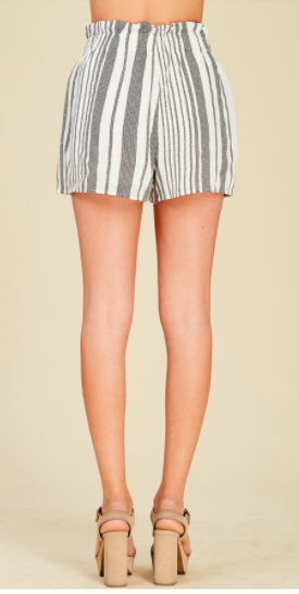 Striped Bucket Shorts