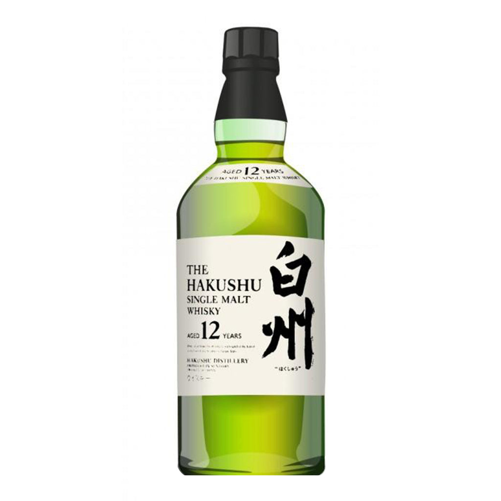 Hakushu 12 Yr Single Malt Japanese Whiskey