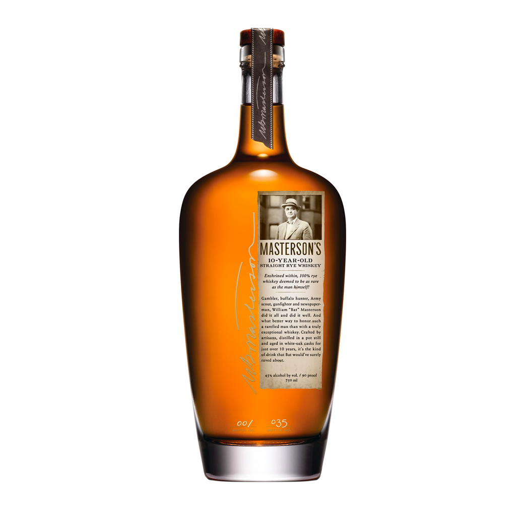 Masterson's 10yr Straight Rye Canadian Whiskey