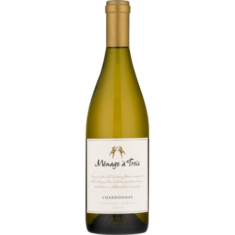 Menage a Trois Chardonnay Central Coast