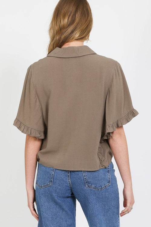 Camp Ruffle Top