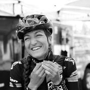 A photo of DNA Cycling professional rider Hanna Muegge