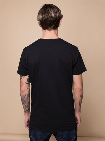 Lonely Lake T-shirt, Negro