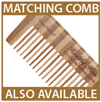 matching comb also available