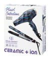 Plaid C+I Hair Dryer & Flat Iron Combo Pack