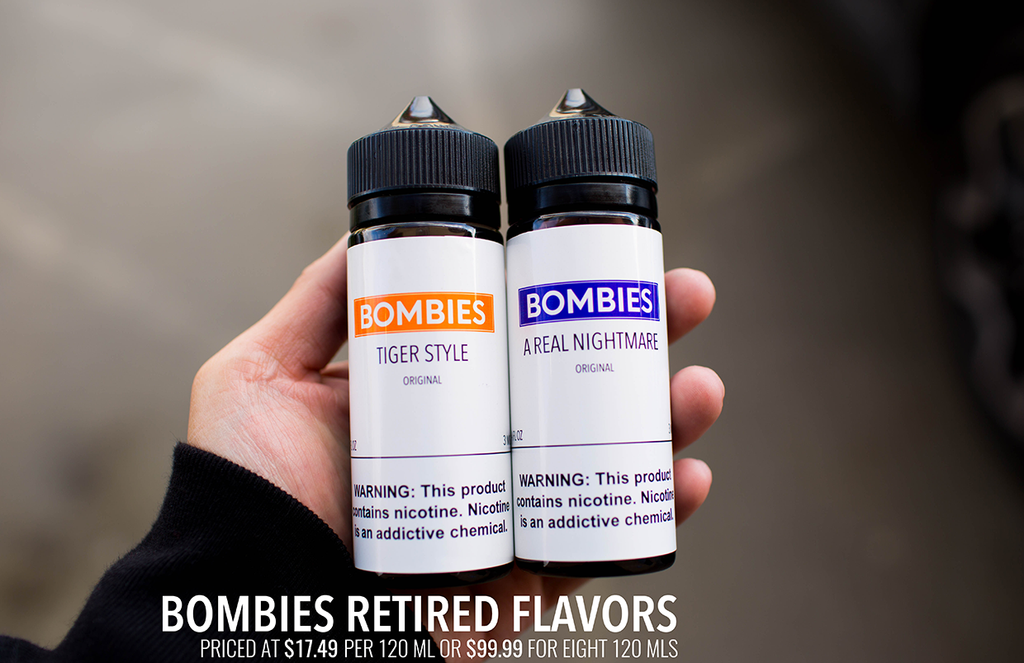 ORIGINAL RETIRED FLAVORS - 120ML x8