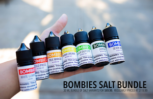 BOMBIES NICOTINE SALT BUNDLE