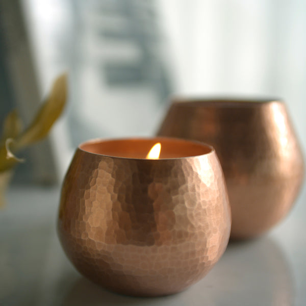 Copper Candles | Citrus Bergamot