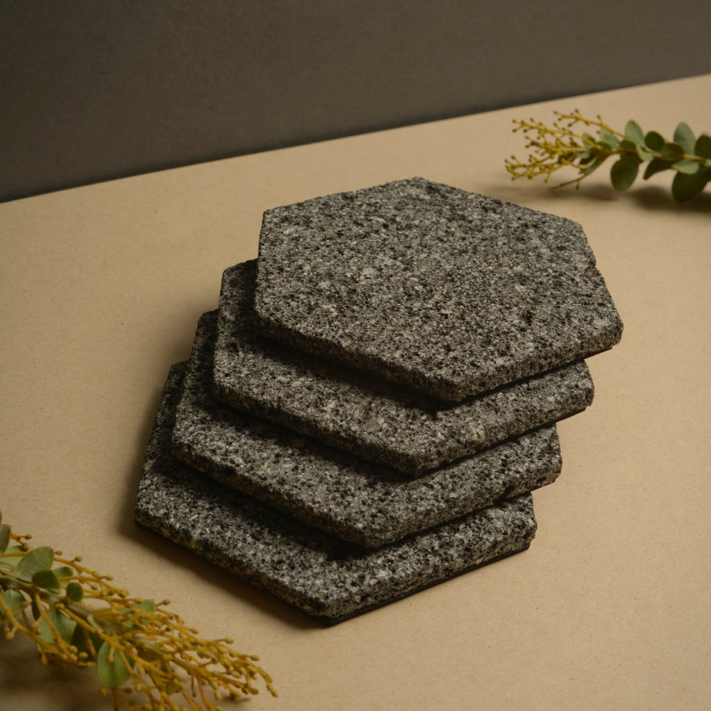 Volcanic Coasters | Hexagonal