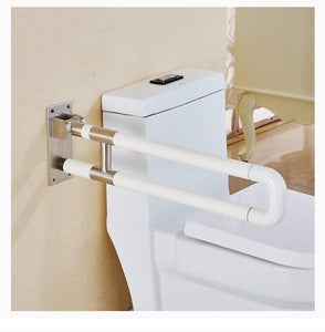 ABS U - Shape Foldable Grab Bar (With Steel Insert)