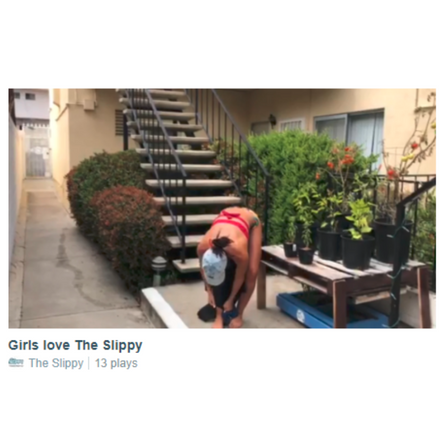 Girls love The Slippy too!