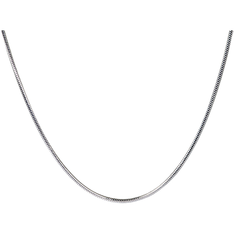 Sterling Silver Snake Chain - 20 Inches