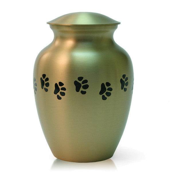 Bronze Paw Cremation Urn - Medium