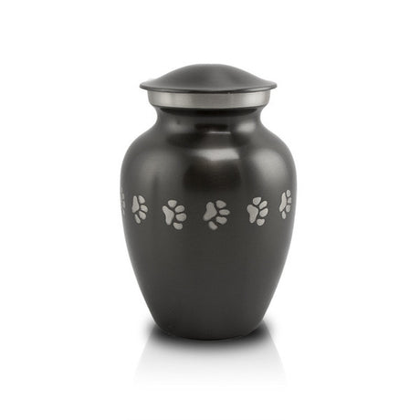 Slate Paw Cremation Urn - Small