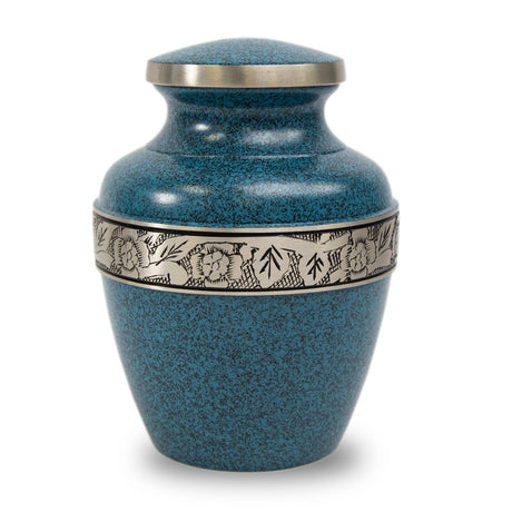 Evening Blue Avalon Cremation Urn - Extra Small