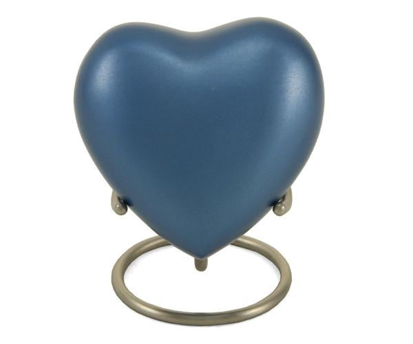 Monterey Blue Keepsake Heart
