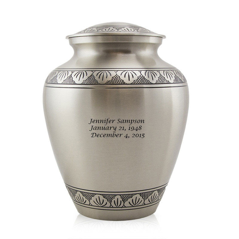 Elite Athena Pewter Cremation Urn - Large
