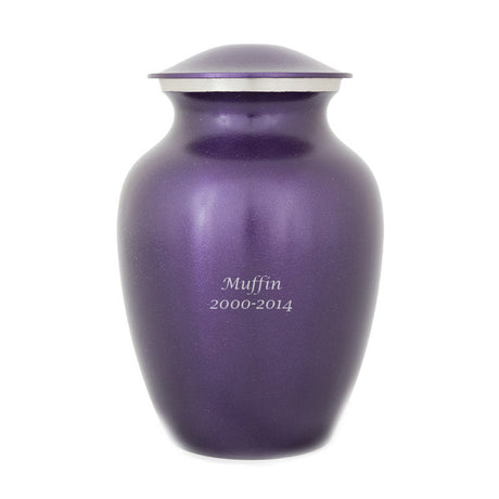 Luxurious Violet Pet Urns - Extra Small