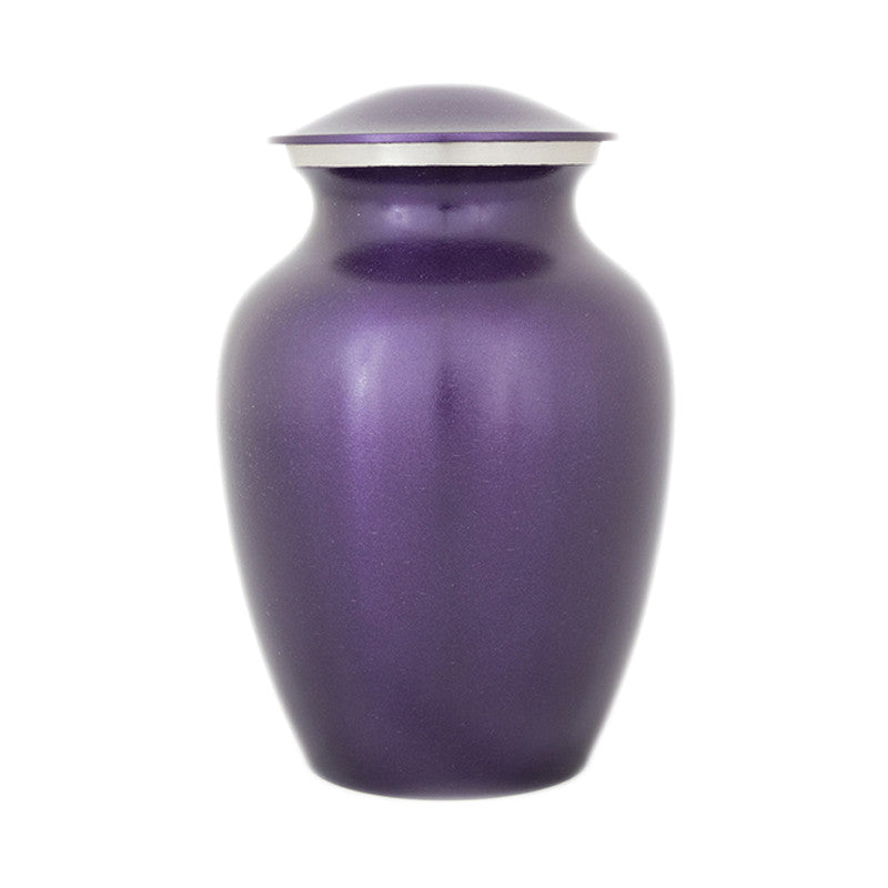 Luxurious Violet Pet Urns - Small